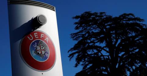 Placeholder - loading - Imagem da notícia Uefa pede afastamento de juiz de Madri de processo sobre Superliga