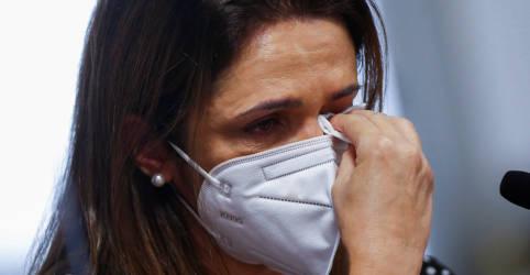 Placeholder - loading - 'Minha dor não é mimimi': vítimas da Covid e familiares levam histórias de sofrimento à CPI