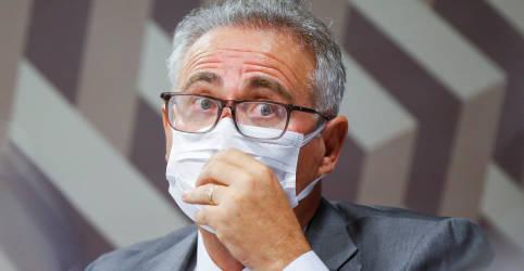 Placeholder - loading - Imagem da notícia Renan tira de relatório da CPI acusações de genocídio e homicídio contra Bolsonaro