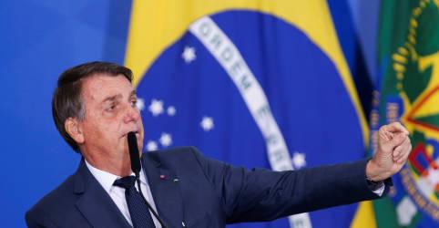 Placeholder - loading - Bolsonaro planeja comparecer à cúpula do G20 em Roma, diz Itamaraty