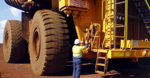 Placeholder - loading - Minério de ferro fecha em alta na China