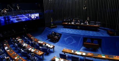 Placeholder - loading - Imagem da notícia Com acirramento da Covid, senadores articulam desidratar PEC Emergencial e só aprovar volta do auxílio