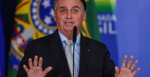 Placeholder - loading - Imagem da notícia Suspensão de PIS/Cofins sobre diesel por 2 meses visa estudo para desoneração definitiva, diz Bolsonaro