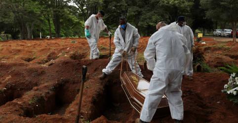 Placeholder - loading - Imagem da notícia Com 1.641 novas mortes, Brasil registra recorde de óbitos por Covid-19 em um dia