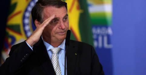 Placeholder - loading - Imagem da notícia Bolsonaro diz que refino de petróleo no Brasil poderia ser maior