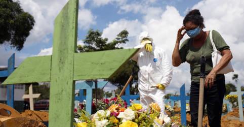 Placeholder - loading - Imagem da notícia Brasil bate novo recorde de mortes por Covid-19 em um dia com mais 1.910 óbitos