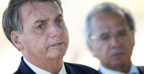 Placeholder - loading - Imagem da notícia Guedes diz que 'na hora decisiva' sempre tem o apoio de Bolsonaro