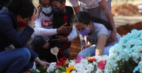 Placeholder - loading - Imagem da notícia Brasil registra 1.800 novas mortes por Covid-19, segunda maior cifra diária