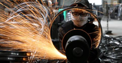 Placeholder - loading - Produção industrial da China desacelera em meio a gargalos de oferta