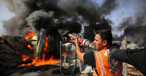 Placeholder - loading - Ataque aéreo israelense mata comandante da Jihad Islâmica em Gaza