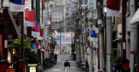 Placeholder - loading - Economia do Japão volta a contrair no 1º tri após Covid-19 afetar gastos