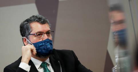 Placeholder - loading - Ex-chanceler Araújo nega declarações anti-China e é lembrado de falar a verdade na CPI