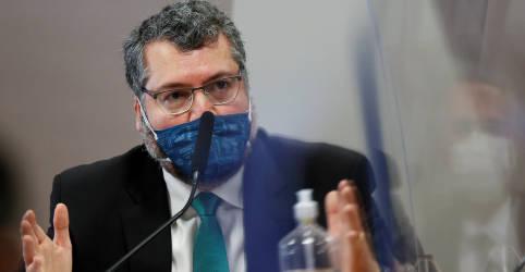 Placeholder - loading - Em depoimento a CPI, Araújo diz que Itamaraty seguiu orientação do Ministério da Saúde na pandemia