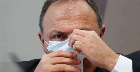 Placeholder - loading - Pazuello afirma que fase crítica de falta de oxigênio em Manaus durou 3 dias e é acusado de mentir