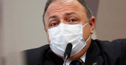 Placeholder - loading - Pazuello diz que não foi pressionado para aprovar uso de cloroquina contra Covid-19
