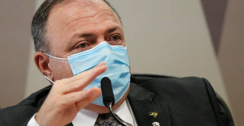 Placeholder - loading - Pazuello diz que intervenção na saúde do AM foi rejeitada por negativa de governador