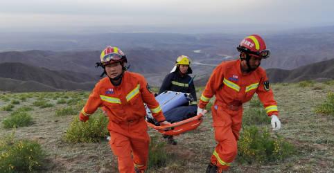Placeholder - loading - Imagem da notícia Sobrevivente de ultramaratona chinesa foi salvo por pastor em caverna