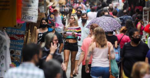 Placeholder - loading - Imagem da notícia Confiança do consumidor no Brasil avança em maio, mas FGV ainda cita cautela