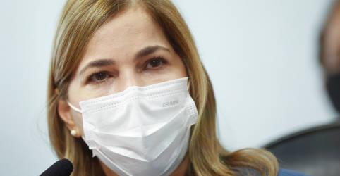 Placeholder - loading - Secretária nega responsabilidade do ministério por crise da Covid e diz que culpa é do vírus
