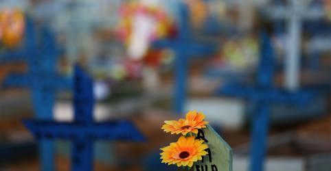 Placeholder - loading - Imagem da notícia Brasil registra 2.173 novas mortes por Covid-19 e total ultrapassa 450 mil