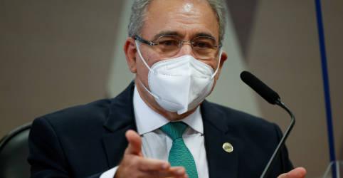 Placeholder - loading - Queiroga diz que se esforça sobre medidas de proteção contra Covid, mas sozinho não consegue