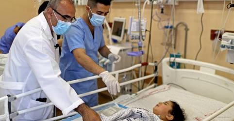 Placeholder - loading - Imagem da notícia OMS busca acesso a pacientes de Gaza e retiradas após conflito