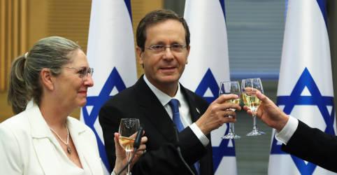 Placeholder - loading - Ex-político de centro-esquerda Herzog é eleito presidente de Israel