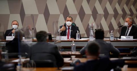Placeholder - loading - CPI da Covid convoca Osmar Terra, auditor do TCU e quebra sigilo de documentos