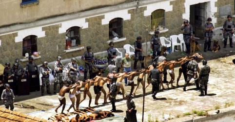 Placeholder - loading - Imagem da notícia STJ restabelece condenaçõesde policiais por massacre do Carandiru