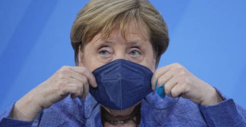 Placeholder - loading - Merkel comemora avanço contra Covid-19, mas variante Delta preocupa