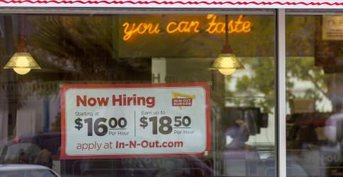 Placeholder - loading - Imagem da notícia Criação de vagas nos EUA provavelmente acelerou em junho com empresas em busca de trabalhadores