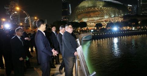 Placeholder - loading - Viagem de Kim à Cingapura domina imprensa estatal norte-coreana