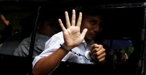 Placeholder - loading - Imagem da notícia Repórteres da Reuters dizem ter sido privados de sono durante detenção em Mianmar