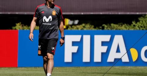 Placeholder - loading - Imagem da notícia Espanha demite técnico da seleção dois dias antes de estreia na Copa do Mundo