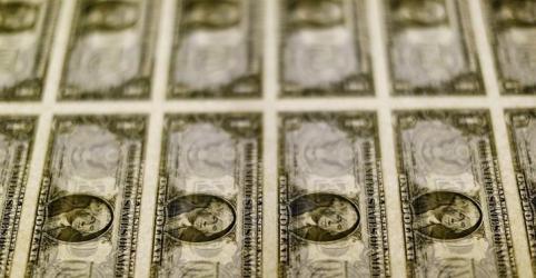 Placeholder - loading - Imagem da notícia BC atua e limita alta do dólar ante real após Fed sinalizar mais juros neste ano