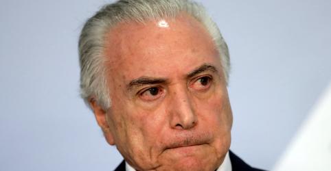 Placeholder - loading - Imagem da notícia PF diz que Temer 'incentivou' pagamentos ilícitos a Cunha e Funaro