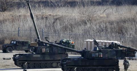 Placeholder - loading - Imagem da notícia Forças dos EUA na Coreia do Sul não estão sujeitas a negociações entre Washington e Pyongyang, diz autoridade sul-coreana
