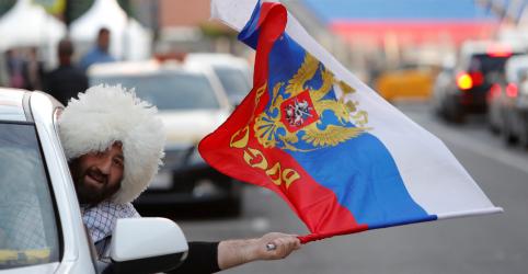 Placeholder - loading - Relação de russos com seleção vai de vergonha a orgulho após vitória sobre Arábia Saudita