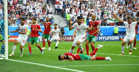 Placeholder - loading - Irã derrota Marrocos com gol contra nos acréscimos do 2º tempo