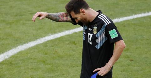 Placeholder - loading - Messi perde pênalti e Argentina empata em 1 x 1 com a Islândia