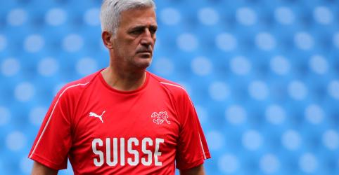 Placeholder - loading - Imagem da notícia Técnico suíço Petkovic diz não ter interesse em futebol bonito contra o Brasil