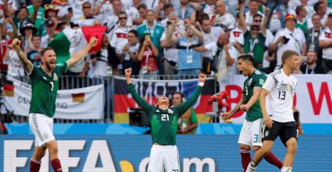 México faz história e vence Alemanha por 1 x 0 em jogo de estreia na Copa