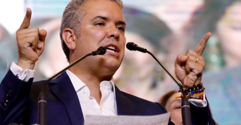Presidente eleito da Colômbia enfrentará desafios com paz e economia empaís dividido