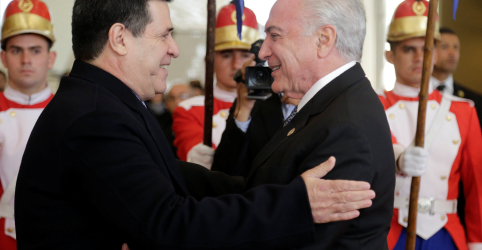 Placeholder - loading - Imagem da notícia Temer diz que Mercosul segue vigilante sobre crise na Venezuela