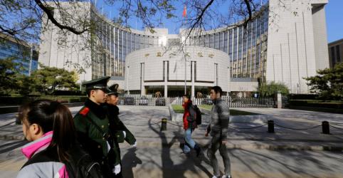 Placeholder - loading - Imagem da notícia BC da China diz que taxa de compulsório deveria ser reduzida e alimenta expectativa de ação