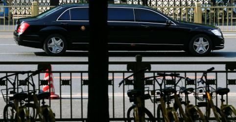 Placeholder - loading - Líder norte-coreano visita Pequim após EUA e Seul interromperem exercícios militares