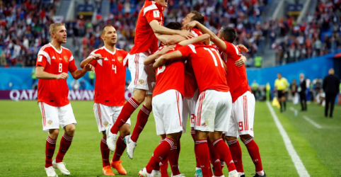 Rússia vence Egito e praticamente garante vaga nas oitavas do Mundial