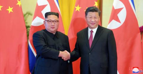 Coreia do Norte e China discutem 'paz verdadeira' e desnuclearização em Pequim, diz agência