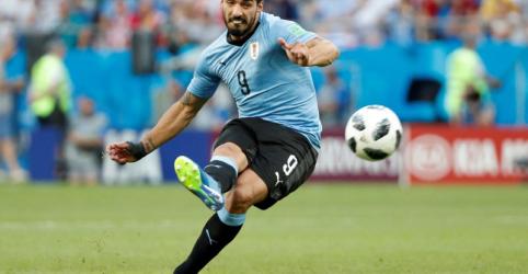 Placeholder - loading - Uruguai se classifica ao vencer Arábia Saudita com gol de Suárez