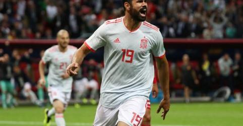Espanha derrota Irã por 1 x 0 com terceiro gol de Diego Costa no Mundial